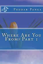 Where Are You From? Part 1 af Peddar y. Panga
