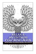 Relax & Anti Stress Coloring Book