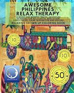 Relaxing Grown Up Coloring Book