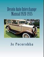 Desoto Auto Interchange Manual 1928-1935