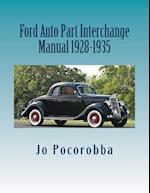 Ford Auto Part Interchange Manual 1928-1935
