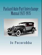 Packard Auto Part Interchange Manual 1927-1935