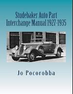 Studebaker Auto Part Interchange Manual 1927-1935