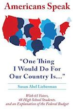 Americans Speak
