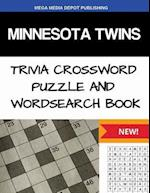 Minnesota Twins Trivia Crossword Puzzle and Word Search Book