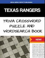 Texas Rangers Trivia Crossword Puzzle and Word Search Book