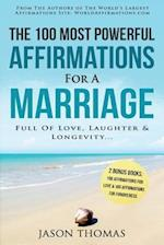 Affirmation the 100 Most Powerful Affirmations for a Marriage Full of Love, Laughter & Longevity 2 Amazing Affirmative Bonus Books Included for Love &