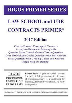 Bog, paperback Rigos Primer Series Law School and Ube Contracts Primer af MR James J. Rigos