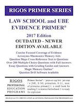 Rigos Primer Series Law School and Ube Evidence Primer af MR James J. Rigos