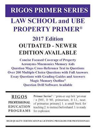 Bog, paperback Rigos Primer Series Law School and Ube Property Primer af MR James J. Rigos