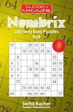 Numbrix - 250 Very Easy Puzzles 9x9