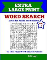 Extra Large Print Word Search, Volume 2