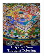 Inspired New Thought Coloring Book