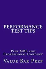 Performance Test Tips