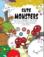 Cute Monsters Coloring Book