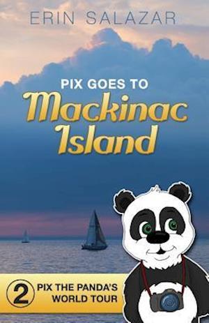 Bog, paperback Pix Goes to Mackinac Island af Erin Salazar