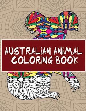 Australian Animal Coloring Book af 14 Peaks