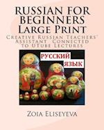 Russian for Beginners Large Print
