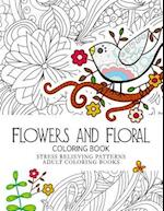 Flowers and Floral Coloring Book