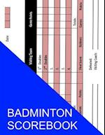 Badminton Scorebook