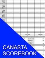 Canasta Scorebook