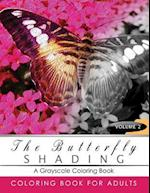 Butterfly Shading Coloring Book Volume 2