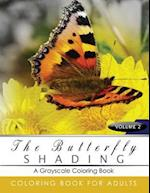 Butterfly Shading Coloring Book Volume 3