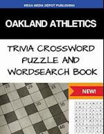 Oakland Athletics Trivia Crossword Puzzle and Word Search Book