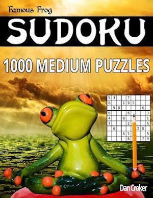 Famous Frog Sudoku 1,000 Medium Puzzles af Dan Croker