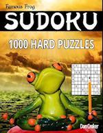 Famous Frog Sudoku 1,000 Hard Puzzles af Dan Croker