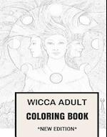 Wicca Adult Coloring Book