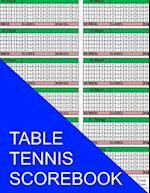 Table Tennis Scorebook