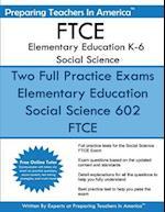 Ftce Elementary Education K-6 Social Science