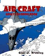 Aircraft Adult Coloring Book