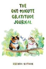 The One-Minute Gratitude Journal (for Cat Lovers)