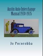 Austin Auto Interchange Manual 1930-1935