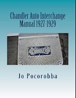 Chandler Auto Interchange Manual 1927-1929