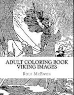 Adult Coloring Book - Viking Images