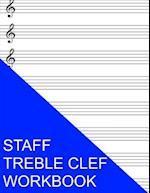Staff Treble Clef Workbook