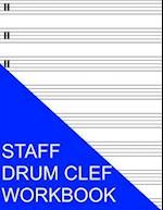 Staff Drum Clef Workbook