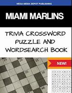 Miami Marlins Trivia Crossword Puzzle and Word Search Book