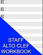Staff Alto Clef Workbook