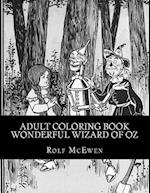 Adult Coloring Book - Wonderful Wizard of Oz