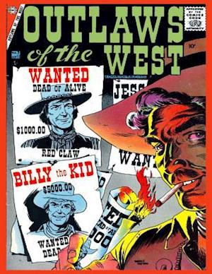 Outlaws of the West # 11 af Charlton Comics Group