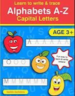 Learn to Write & Trace Alphabets A-Z