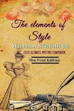 The Elements of Style, First Edition