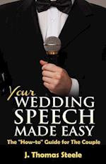 Your Wedding Speech Made Easy