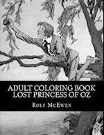 Adult Coloring Book - Lost Princess of Oz