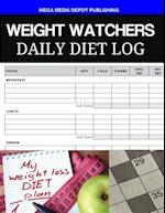 Weight Watchers Daily Diet Log