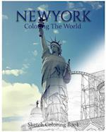 New York Coloring the World